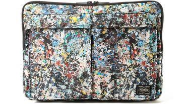 Sync. x Jackson Pollock聯名PORTER包包登場!