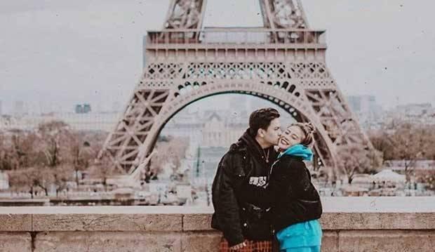 Putus dengan Awkarin, Gangga Kusuma Ungkap Mitos Foto Mesra di Menara Eiffel