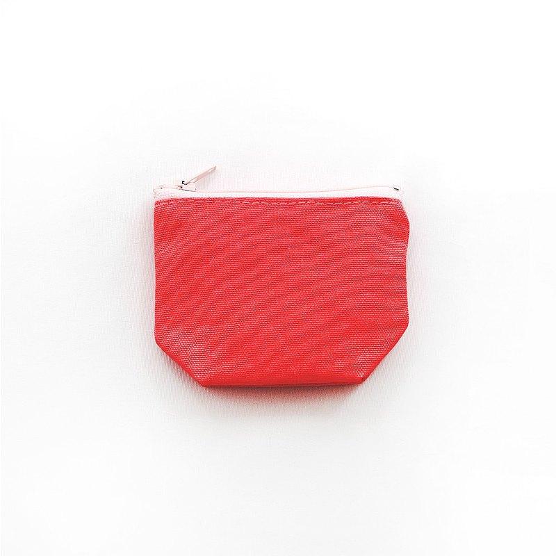純手工製作,輕便小巧素色隨身包