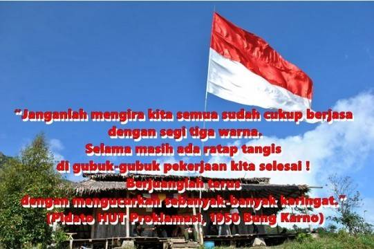 30 Kumpulan Kata Kata Mutiara Hari Kemerdekaan 17 Agustus Tunjukkan Nasionalisme