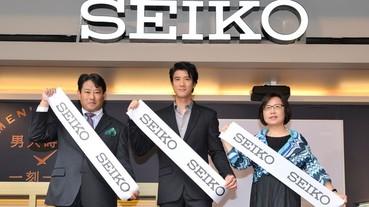 SEIKO 首創男人月盛典 Moving Lounge Bar 揭幕 為男人舉杯 王力宏分享男人時光 一刻一味