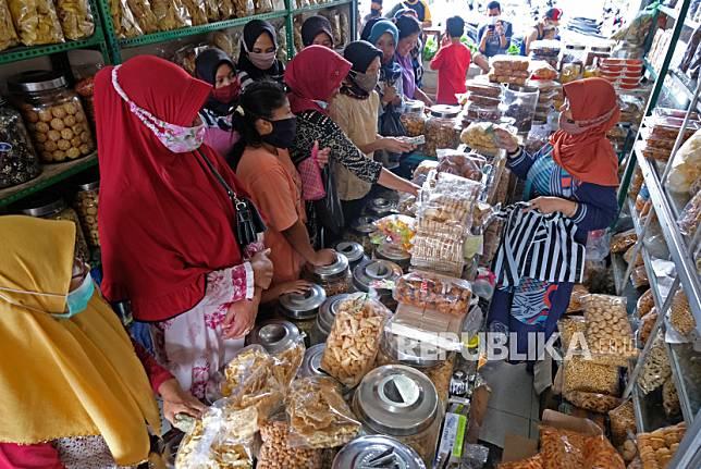 Pasar Lebaran Sleman Sukses Digelar Luring dan Daring (ilustrasi).