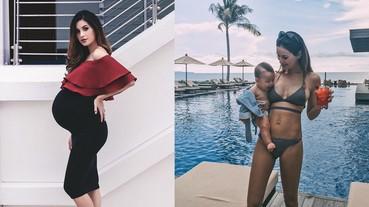 新加坡辣媽Sonya簡直瘦身神人!生完雙胞胎3周竟能大曬「馬甲線」