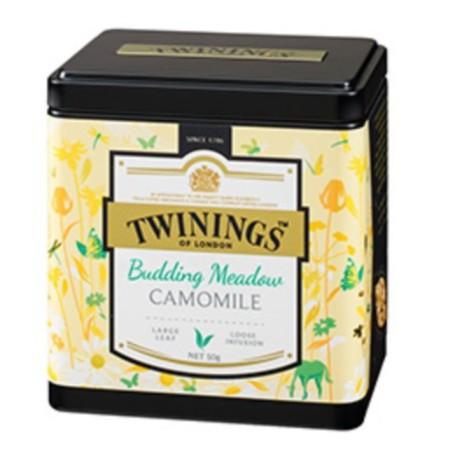 Twinings 唐寧茶 鉑金系列 晨光草原甘菊花茶 散茶50g(罐裝)