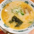 とんこつラーメン - 実際訪問したユーザーが直接撮影して投稿した恵比寿南中華料理日高屋 恵比寿南店の写真のメニュー情報