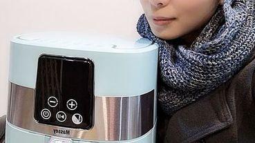 【3C家電推薦】零廚藝也能變大廚-Massey 4L智能無煙氣炸鍋(湖水藍)