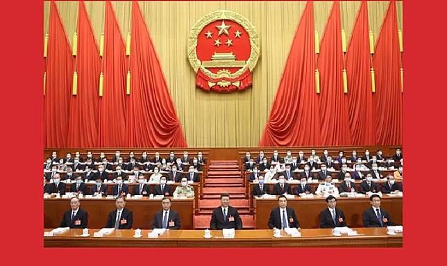Kongres Nasional Cina dipimpin Presiden Xi Jinping dimulai Jumat, 22 Mei 2020. [XINHUA NEWS]