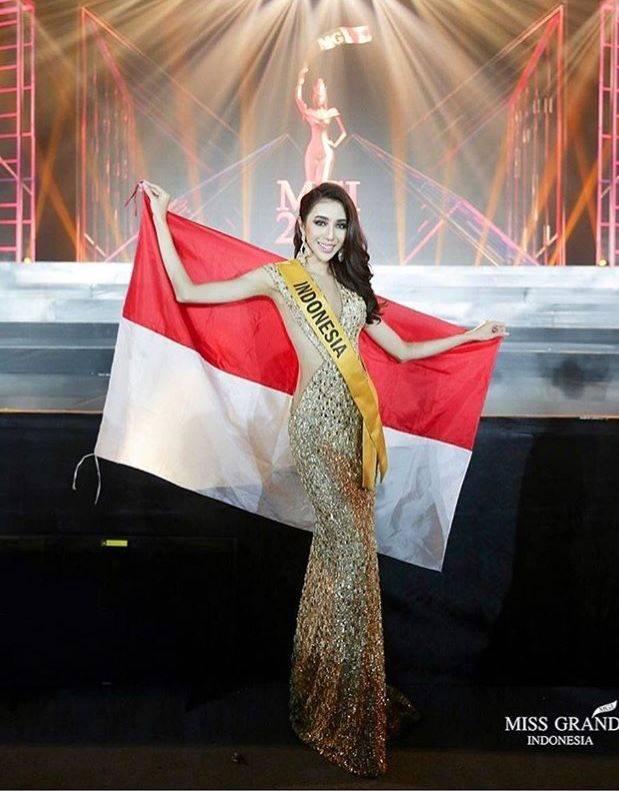 Runner Up 2 Miss Grand Internasional, 10 Foto Nadia Purwoko bak Barbie