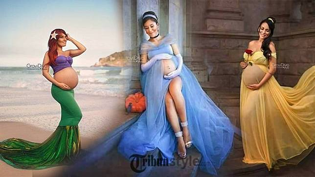 94 Koleksi Gambar Kartun Ibu Hamil Cantik HD