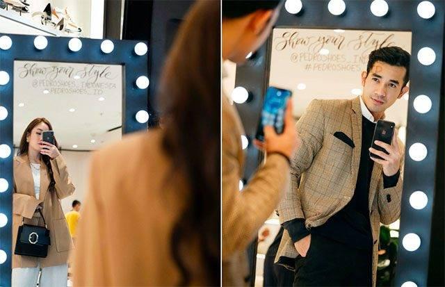4 Tips OOTD Tampil Keren Saat Selfie Lewat Cermin