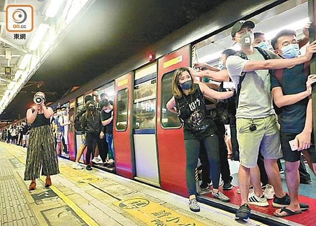 港鐵表示會在車務安排方面作新應對,保障員工及乘客安全。
