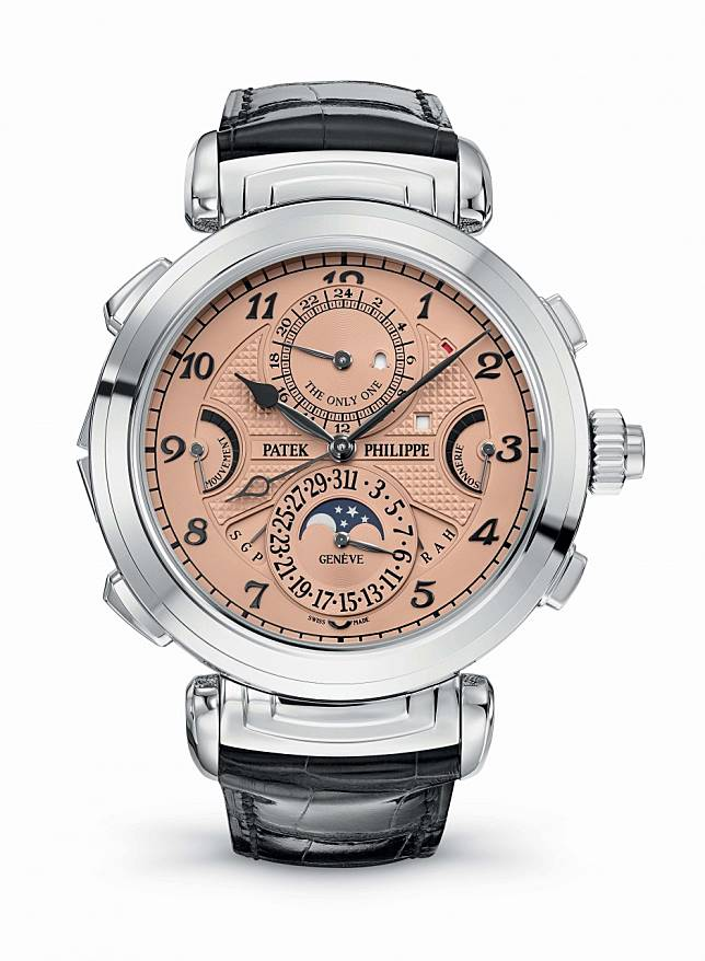 Which luxury watch brand - Patek Philippe, Audemars Piguet or Vacheron Constantin - sold the most expensive timepiece ever auctioned in Asia?