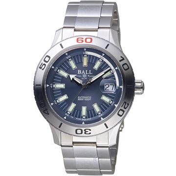 原廠公司貨具備日期顯示藍寶石水晶鏡面 13支自體發光微型氣燈料號:DM3090A-S3J-BE