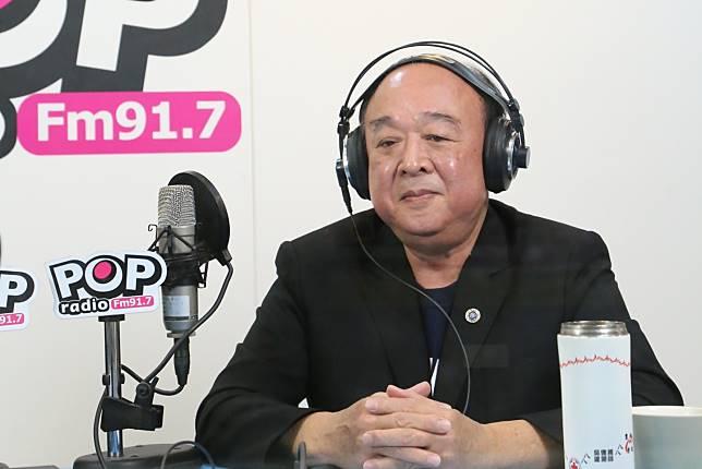 國民黨不分區立委候選人吳斯懷。(圖 / POP廣播提供)