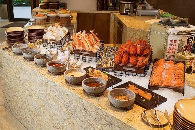 以可持續發展海鮮炮製的多款菜式,賣相吸引。 (互聯網)