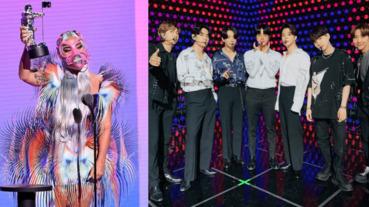 這位「超紅女星」竟全槓龜⋯2020 VMA 完整得獎名單出爐:Lady Gaga、BTS 成最大贏家!