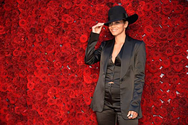 Halle Berry attends Tyler Perry Studios grand opening gala at Tyler Perry Studios on October 05, 2019 in Atlanta, Georgia.