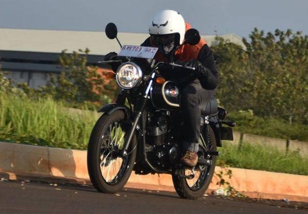 W175, motor bergaya klasik lansiran Kawasaki