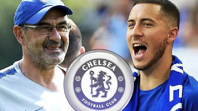 Eden Hazard Dapat Restu Sarri Tinggalkan Chelsea