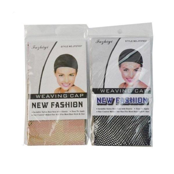 髮網SG599 假髮頭套專用髮網 假髮髮網 兩頭通假髮網帽黑色米白色髮網