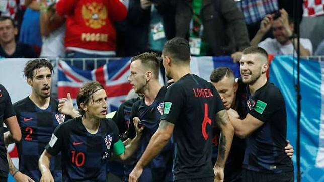 Dramatis, Gol Telat Mandzukic Bawa Kroasia ke Final Piala Dunia