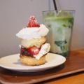 スコーンサンド いちごあんホイップ - 実際訪問したユーザーが直接撮影して投稿した浅草カフェフェブズ コーヒー&スコーンの写真のメニュー情報