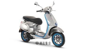 義大利經典機車品牌 Vespa推出首款電動機車 Elettrica!
