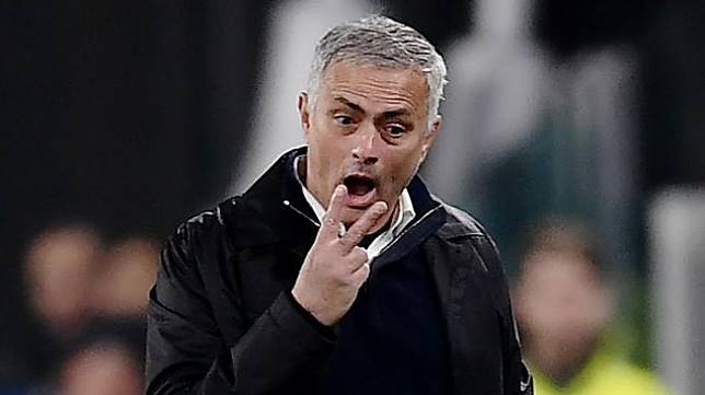 Mantan manajer Manchester United, Jose Mourinho. [AFP/Marco BERTORELLO]