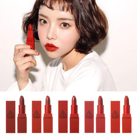 韓國 3CE RED RECIPE火紅魅力唇膏 3.5g 唇膏 口紅 唇彩 紅色唇膏 3CONCEPT EYES