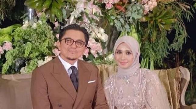 Foto-foto resepsi pernikahan Laudya Cynthia Bella-Engku Emran di Bandung, Minggu (8/10/2017). (Instagram)