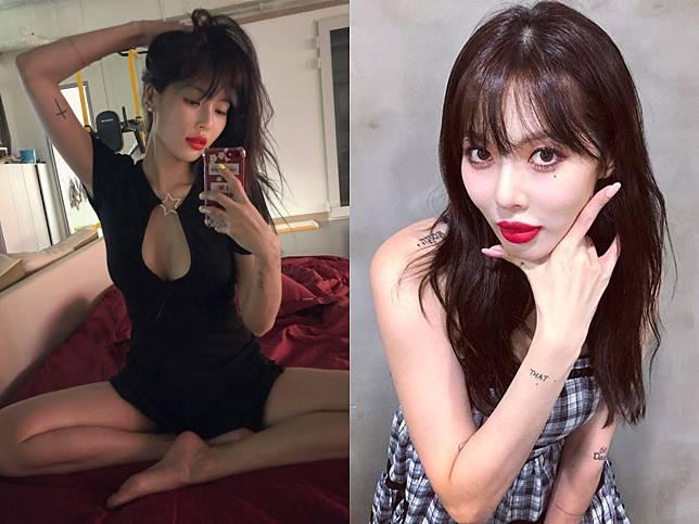 ▲南韓人氣歌手泫雅近來傳聞不斷。(圖/泫雅IG)