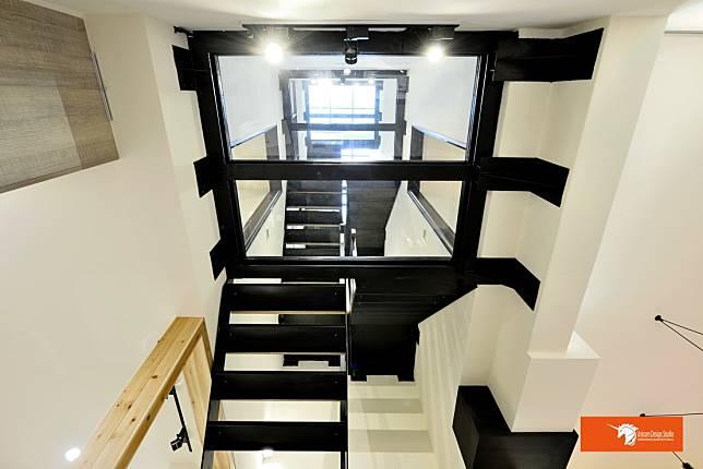 省電環保的綠能階梯