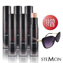 STEMCIN 奶油絲絨毛孔隱形粉底棒(6入組) 贈太陽眼鏡