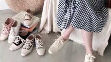 D+AF 粉絲敲碗款!時尚休閒帆布鞋