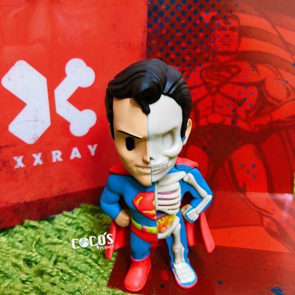 正版 Mighty Jaxx-XXRAY DC英雄 4吋 超人 半剖系列 公仔玩具擺飾 COCOS FG680