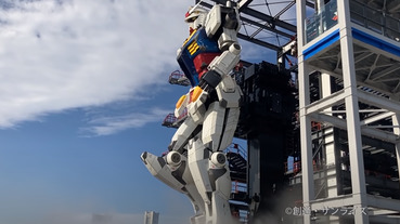 日本 18 公尺鋼彈真的動起來了!預計於 12 月 19 日正式開幕(影片)
