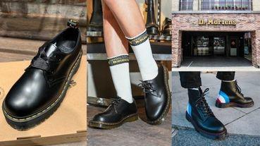 Dr. Martens馬丁西門店重新開幕,新款「緞帶蝴蝶結2孔馬丁鞋」可愛爆表!加碼熱賣TOP5!