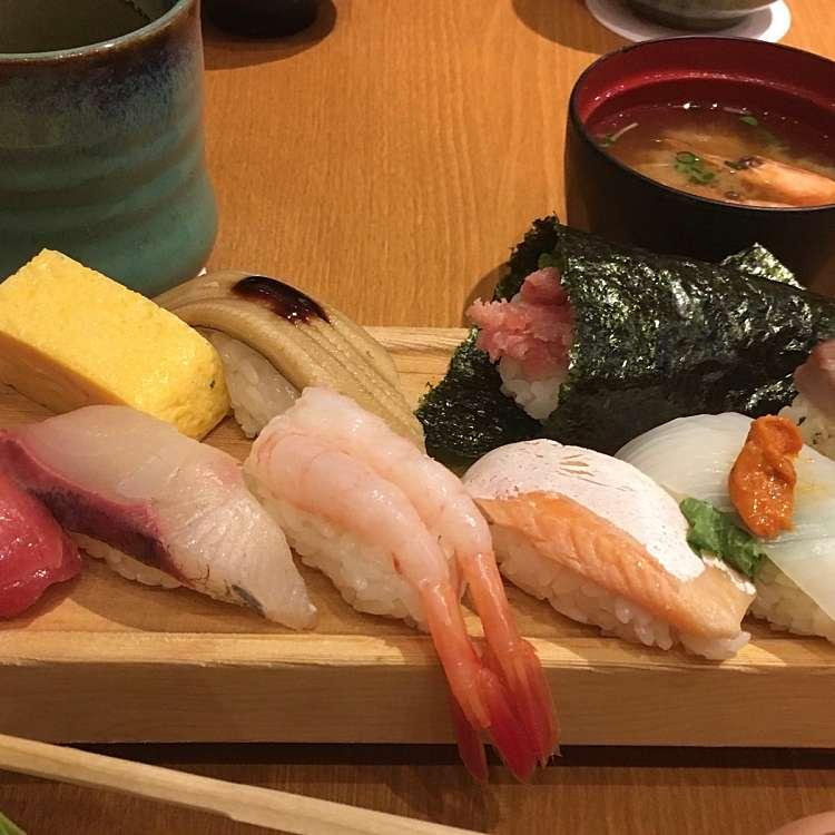 ユーザーが投稿した板前選抜にぎりの写真 - 実際訪問したユーザーが直接撮影して投稿した歌舞伎町寿司板前寿司 新宿東宝ビル店の写真