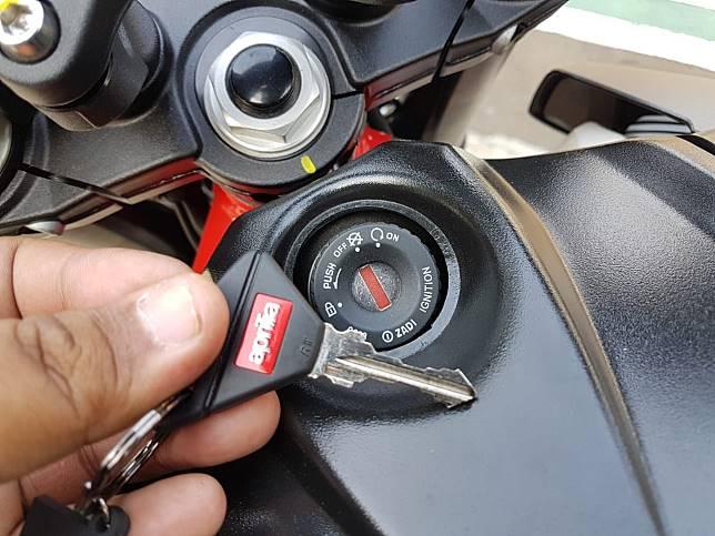 Kunci Aprilia Shiver 900