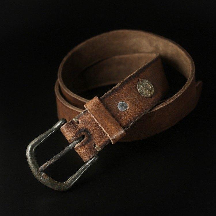 HEYOU Handmade - Vintage Style 舊化馬鞍皮帶 - Type.1