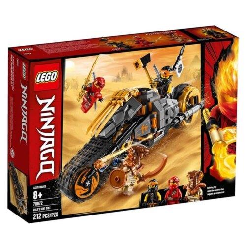 樂高LEGO 70672 NINJAGO 旋風忍者系列 -阿剛的越野摩托車