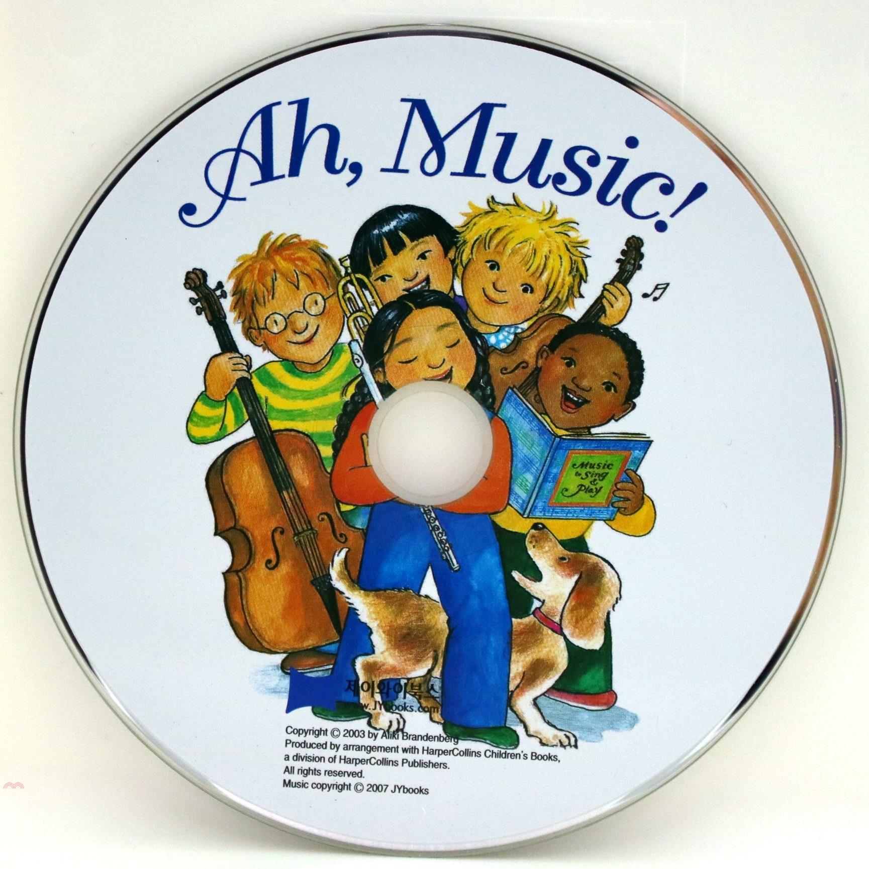 書名:Ah, Music! (1CD only)(韓國JY Books版) 廖彩杏老師推薦有聲書第2年第30週定價:175元ISBN13:9788954905725出版社:JY Books Kr作者: