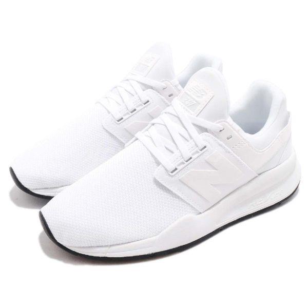 New Balance 慢跑鞋 NB 247 白 黑 二代 運動鞋 黑白 基本款 女鞋【PUMP306】 WS247UDB