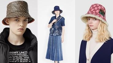 2020春夏大勢配件「老花漁夫帽」!Louis Vuitton經典、Dior氣質、Burberry前衛、Gucci復古、MLB時髦...哪一款深得你心