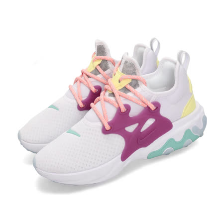 Nike 休閒鞋 React Presto 運動 女鞋 CD9015-101