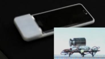 超獵奇:這款手機殼可以讓手機「爬」到無線充電盤上