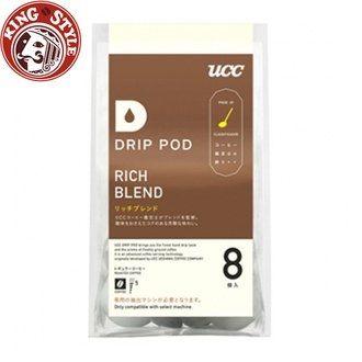 金時代書香咖啡 UCC DRIP-POD 嚴選香醇綜合咖啡膠囊 01910 (7.5g/8p) 1包