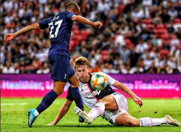 Debut De Ligt, Juventus Dipermalukan Tottenham Hotspur