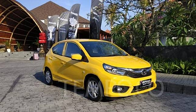 All New Honda Brio Satya. 19 Oktober 2018. TEMPO/Wawan Priyanto