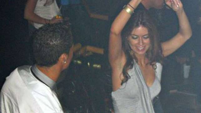 Kate Mayorga saat bersama Cristiano Ronaldo